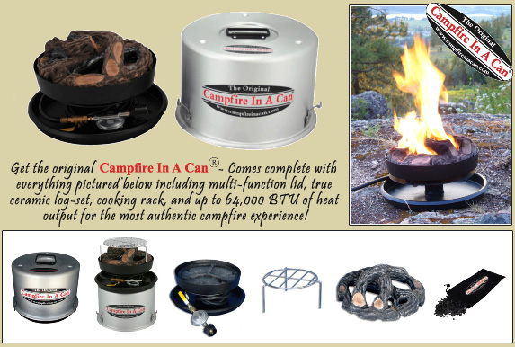 Get the original Campfire in a Can