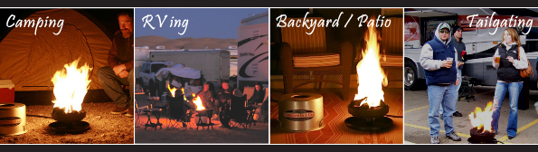 Camping / RVing / Backyard or Patio / Tailgating